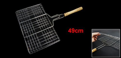 Picnic Cook Set Locking Barbecue Accessories Tools Camp Broiler Basket