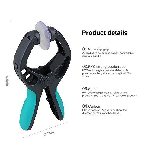 LCD Screen Opening Pliers Cell Phone Repair Tool with Super Strong Suction Cup Platform for iPhone 6 Plus/6/5s/5/4 iPad iPod Samsung Galaxy S5/S4/S3/S2 Note or All Kinds of Smartphone(1pcs)