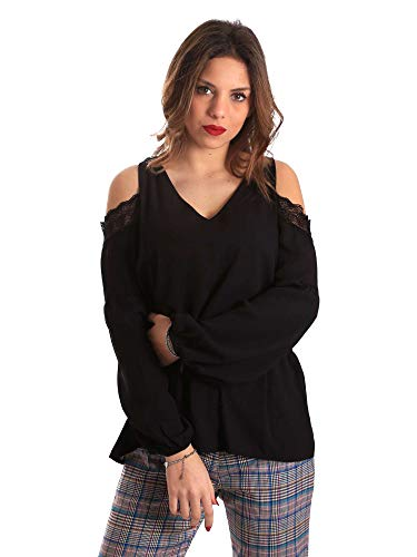 821fd45030 Gaudi 821fd45030 Blusa Blusa Gaudi Femmes Noir R4Twq4