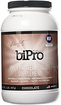 BiPro 2lb 100% Whey Protein Chocolate Isolate