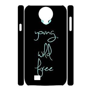 custom samsung galaxy s4 i9500 3D case, Young, Wild, Free 3D hard back case for samsung galaxy s4 i9500 at Jipic (style 3)
