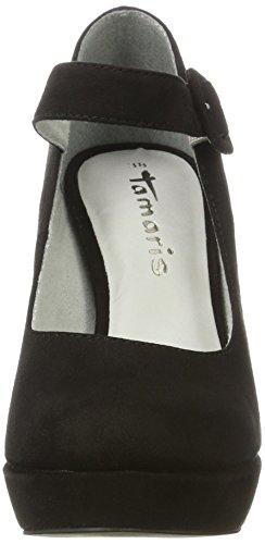 Black Tamaris Black 001 3 Black Toe WoMen 24408 Pumps Closed UK qqAaT