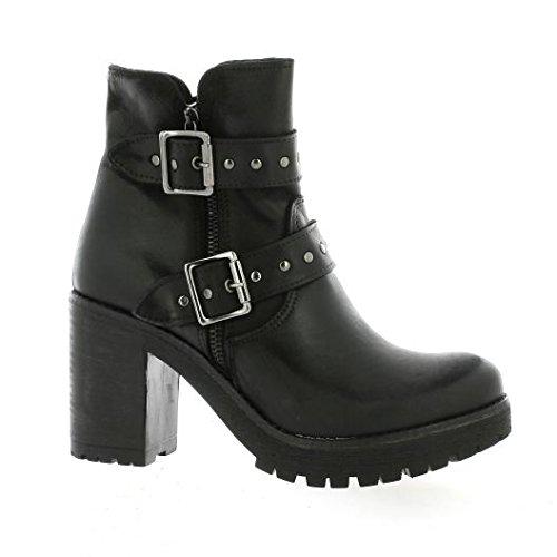 Pao Noir Noir Nubuck Cuir Boots qXTfarUxwX