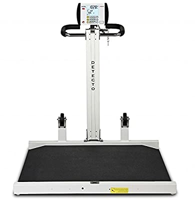 Detecto 6550 Portable Electronic Physician's Wheelchair Weigh Scale