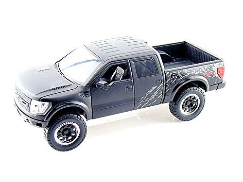 Jada 2011 Ford F150 SVT Raptor Pickup Truck 1/24 Diecast Model Car Matte (Toy Truck Shelf)