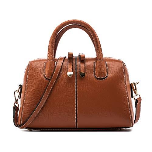 Naiermai Genuine Leather Handbags for Women Soft Hobo Bag Shoulder Top Handle Bag Totes for Ladies