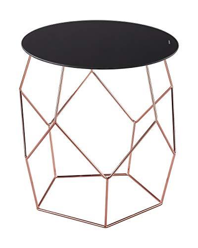 ASPECT Origami Table dappoint Cuivre/Noir 42 x 46 x 46 cm