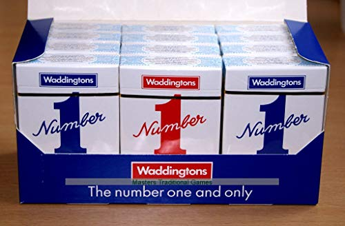 Deck Of Waddingtons Playing Cards Number 1 Pack Of 12