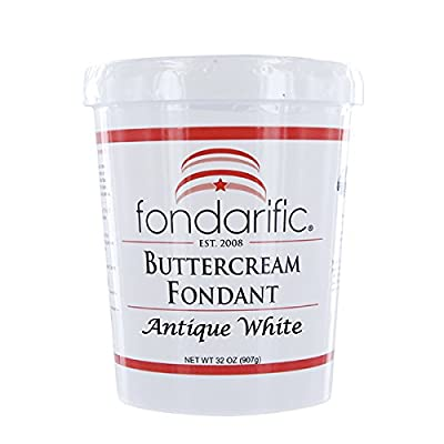 Fondarific Buttercream, 2-Pounds by Fondarific