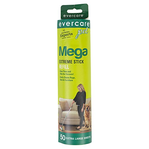 Evercare Pet Mega Extreme Stick 50 Sheet Surface Roller