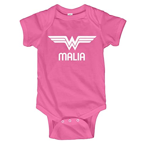 FUNNYSHIRTS.ORG Superhero Halloween Baby Malia: Infant Bodysuit -