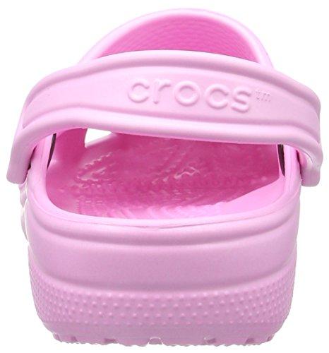 crocs Classic, Unisex-Erwachsene Clogs Rosa (Carnation)