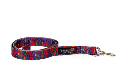 Dutch Dog Amsterdam Eco Friendly Van Heemskerck Fashion Dog Leash, 5-Feet