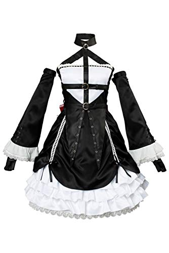 COSMOVIE Kasumi Cosplay Costume Suit Halloween Game Role Play Marie Rose Costume Outfit (XS, Kasumi)