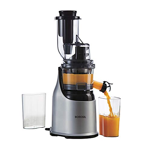 Borosil Health Pro Cold Press Slow Juicer, 200W