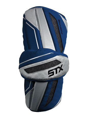 STX Lacrosse Men's Shadow Armguard, Navy Blue, Medium