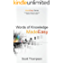 Words of Knowledge Made Easy (Made Easy Series Book 1)