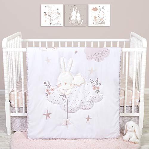 Sammy & Lou Sammy And Lou Cottontail Cloud 4 Piece Crib Bedding Set