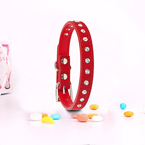 ars for Small Dogs Prime (Small, Red) (Custom Designer Dog Collar Collars)