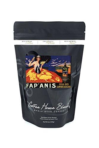 Fapanis Celui Des Connaisseurs   Vintage Advertisement  8Oz Whole Bean Small Batch Artisan Coffee   Bold   Strong Medium Dark Roast W  Artwork