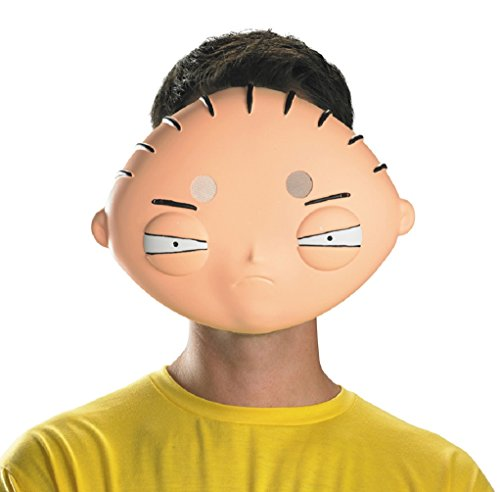 [Adult Men's Family Guy Stewie Mask (Adult)] (Stewie Family Guy Costume)