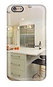 Andre-case Anti-scratch And Shatterproof Contemporary White Kitchen Island With Extra Storage And Seating Space hKUFB8YXRKJ cell phone case cover For Iphone 6 plus/ High Quality Tpu case cover