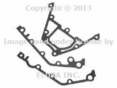 BMW Genuine Gasket Set - Lower Timing Chain Case Cover for 840Ci 840i 740i 740iL 530i 540i 740i 740iL 740iLP 540i 540iP ALPINA V8 X5 4.4i X5 4.6is ()