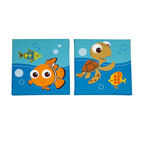 Disney Finding Nemo 2 Piece Wall Decor, Blue