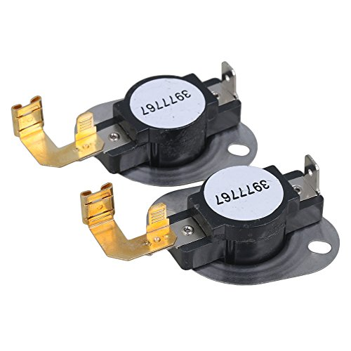 (RDEXP WP3977767 Dryer Thermostat Limit for AP6009043 AP313194 PS11742185 PS351925 3399693 Dryer Replacement Set of)