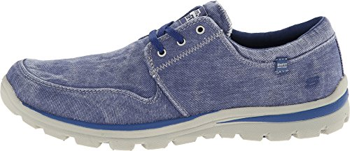 SKECHERS Men's Superior Elvin Blue Sneaker 13 D (M)