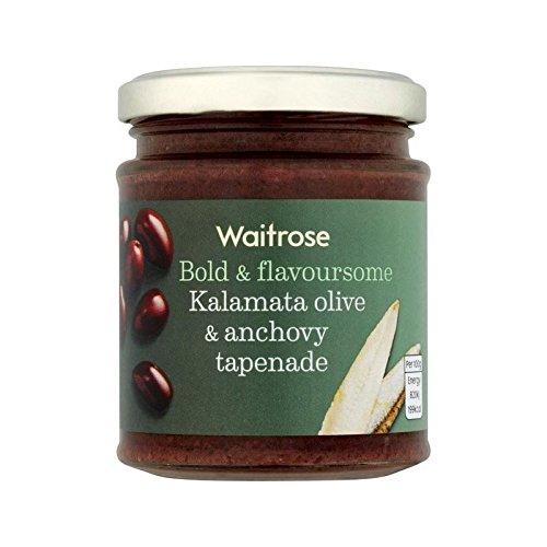 Tapenade Kalamata Olive & Anchovy Waitrose 165g - Pack of 6