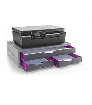 Exponent 42816 Gris, Plata Mueble y Soporte para impresoras ...