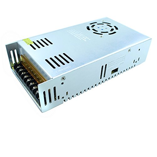 Tanbaby 5V 60A DC Universal Regulated Switching Power Supply 300w for CCTV, Radio, Computer Project