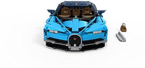41Vi%2BwfrHEL - LEGO Technic Bugatti Chiron 42083 Race Car Building Kit and Engineering Toy, Adult Collectible Sports Car with Scale Model Engine (3599 Piece)