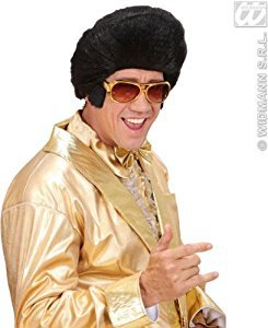 Adult's Elvis Sunglasses With Side (Elvis Side Burns)
