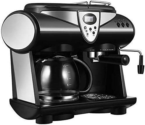 Kaffeemaschine,Kaffee- Und Espressomaschine, 20 Bar 1.5 L Wassertank Für Kaffeepulver Oder Pads Geeignet,Integrierter Automatischer Milchschäumer Silber