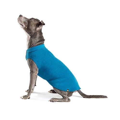 gold Paw Stretch Fleece Dog Coat Marine bluee (Size 30)