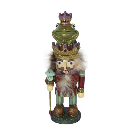 Kurt Adler HA0051 15-Inch Hollywood Frog Prince Nutcracker