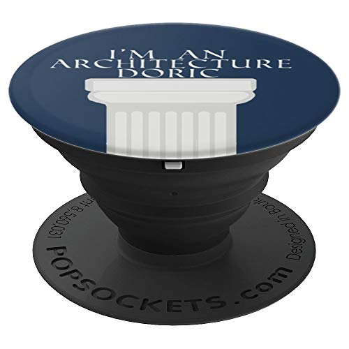 (Doric Greek Column - PopSockets Grip and Stand for Phones and Tablets )