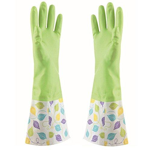 KINGFINGER Rubber Cleaning Gloves dishwashing
