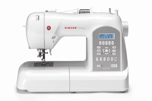 SINGER 8770 Curvy 225-Stitch Computerized Portable Sewing Machine