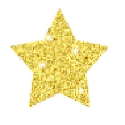 Stars Stickers Dazzle (Dazzle Chart Seals Stars 440/pk)