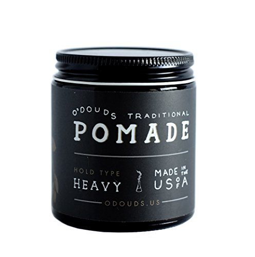 O'Douds Apothecary Traditional Pomade, Heavy, 4oz