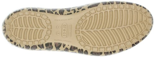 gold Kadee Or Ballerines Crocs Femme black Leopard wXvxca7B