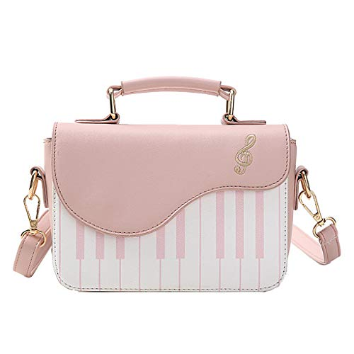 Bag Shape HMHUI Piano Shoulder Handbag Cute Women Pink Crossbody Ladies Satchel Messenger xqZ1ZA0wS