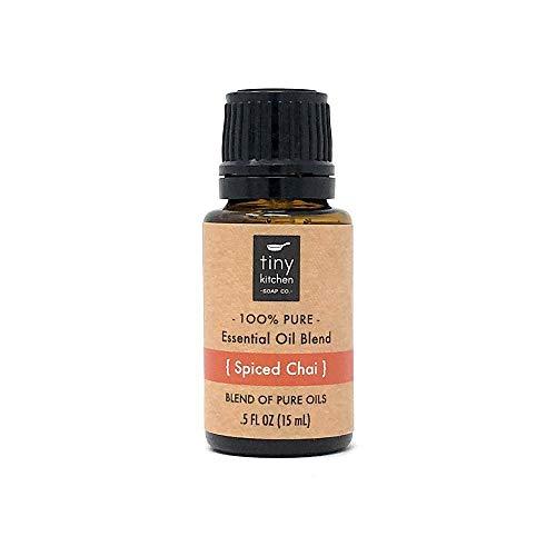 Spiced Chai - Blend of Pure Undiluted Essential Oils (15 mL / .5 fl oz)