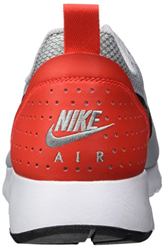 Nike Air Max Tavas, Zapatillas de Estar por Casa para Hombre Gris (Wolf Grey/black-max Orange)