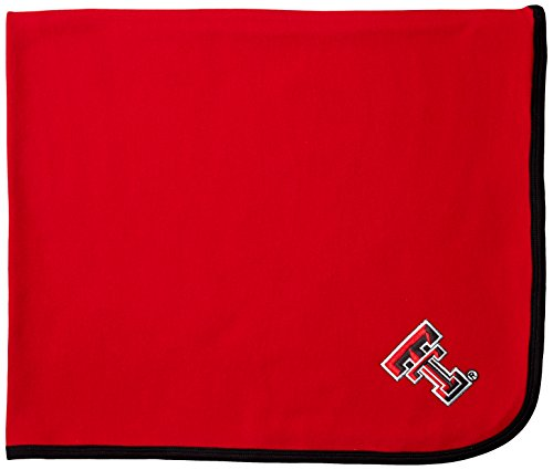 Two Feet Ahead NCAA Texas Tech Red Raiders Infant Blanket, One Size, Red/Black