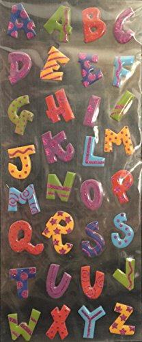 (Recollections -Epoxy Stickers- Alphabet Stickers)