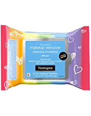 Neutrogena Makeup Remover Night Calming Cleansing Towelettes, Disposable Nighttime Face Wipes to Remove Dirt, Oil & Makeup, 25 ct, Twin Pack